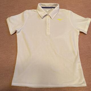ミズノ(MIZUNO)のミズノ ポロシャツ 白 レディース (ポロシャツ)