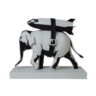 メディコムトイ(MEDICOM TOY)のBanksy Elephant with Bomb (その他)
