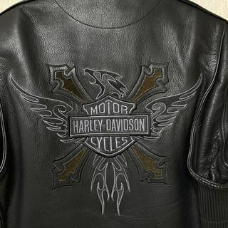 ハーレーダビッドソン(Harley Davidson)のハーレーダビッドソン純正ライダースジャケット レザージャケット(ライダースジャケット)