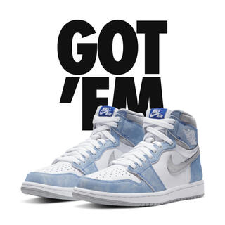 NIKE - 27cm NIKE AIR JORDAN 1 HYPER ROYAL