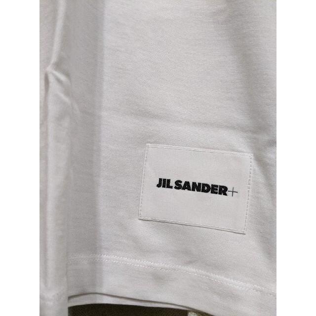 Jil Sander(ジルサンダー)のJIL SANDER ロゴTEE XLサイズ WHITE新品未試着 メンズのトップス(Tシャツ/カットソー(半袖/袖なし))の商品写真