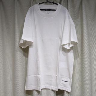 ジルサンダー(Jil Sander)のJIL SANDER ロゴTEE XLサイズ WHITE新品未試着(Tシャツ/カットソー(半袖/袖なし))