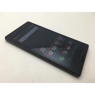 京セラ - SIMロック解除済 au Qua phone QX KYV42 ブラック ◆美品