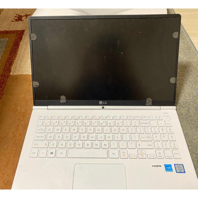 LG Electronics(エルジーエレクトロニクス)のLG gram 15Z960-G.AA12J スマホ/家電/カメラのPC/タブレット(ノートPC)の商品写真