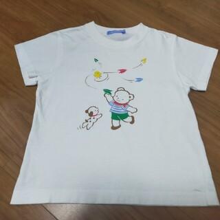 familiar - ファミリア Tシャツ ファミちゃん 紙飛行機 120