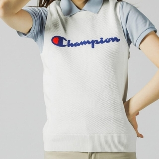 Champion - 新品 L Champion golf best wear プロ使用モデル 白