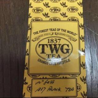 TWGシンガポール紅茶1837BLACK tea 50g 新品未使用未開封
