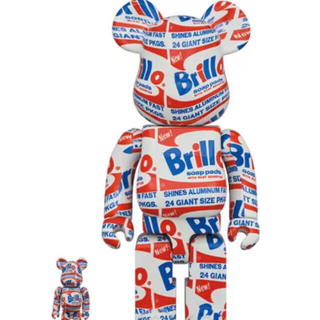 BE@RBRICK ANDY WARHOL Brillo 100% & 400%(その他)