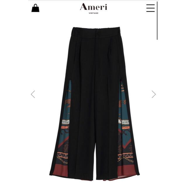 Ameri VINTAGE(アメリヴィンテージ)のAmeri MEDI TWIN CHEETAH SCARF PANTS 新品 レディースのパンツ(カジュアルパンツ)の商品写真