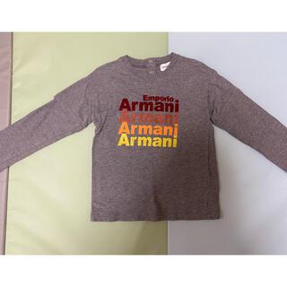エンポリオアルマーニ(Emporio Armani)のエンポリオ アルマーニ ジュニア キッズ ロンT  36M(Tシャツ/カットソー)