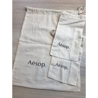Aesop - イソップ   ショップ袋 巾着 3枚セット