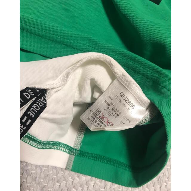 le coq sportif(ルコックスポルティフ)のルコックスポルティフlecoqsportifゴルフトップスグリーンおすすめL スポーツ/アウトドアのゴルフ(ウエア)の商品写真