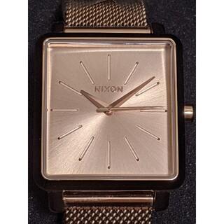NIXON - 【新品・未使用】NIXON ニクソン Kスクエアド アナログ腕時計ローズゴールド