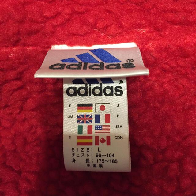 adidas(アディダス)の【美品】adidas サッカー 日本代表  ベンチコート Lサイズ スポーツ/アウトドアのサッカー/フットサル(ウェア)の商品写真