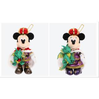 Disney - ディズニーランド 38周年 ミッキー ミニー ぬいぐるみバッジ ぬいば