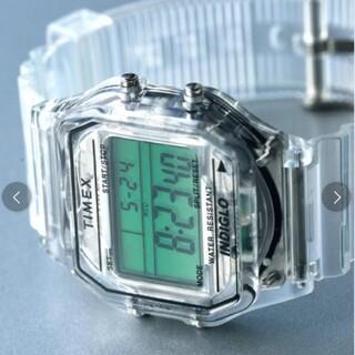 タイメックス(TIMEX)のTIMEX × BEAMS 別注 Classics Digital スケルトン(腕時計(デジタル))