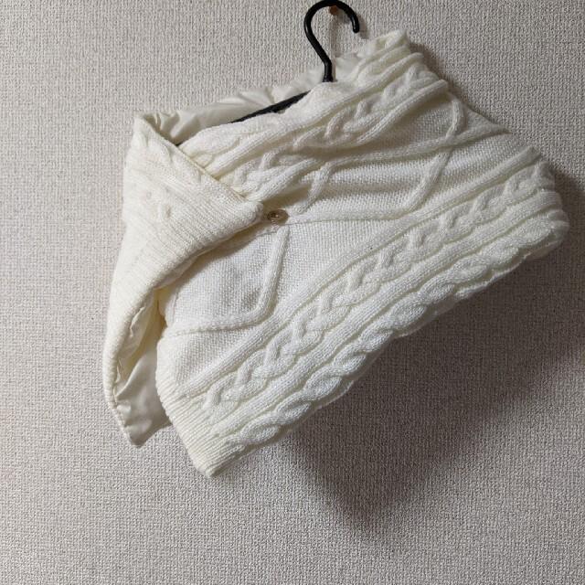 AIGLE(エーグル)の新品★AIGLE 2way マフラー ケーブル編み レディースのファッション小物(マフラー/ショール)の商品写真