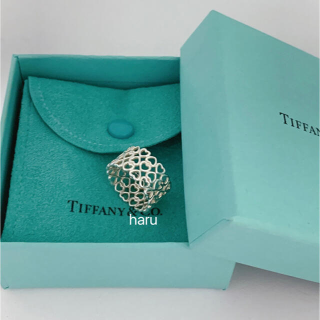 Tiffany & Co.(ティファニー)のティファニーハートリング レディースのアクセサリー(リング(指輪))の商品写真