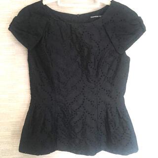 ストロベリーフィールズ(STRAWBERRY-FIELDS)のStrawberry Fields ブラックトップス(Tシャツ(半袖/袖なし))