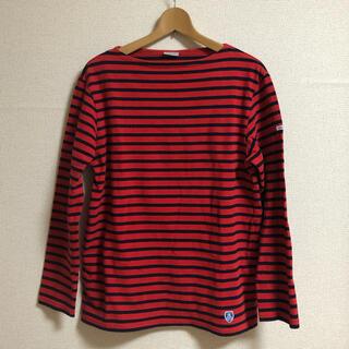 オーシバル(ORCIVAL)のオーシバル ボーダーワイドプルオーバー(Tシャツ/カットソー(七分/長袖))