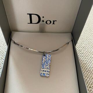 Dior - ☆Diorトロッターネックレス☆ブルー小