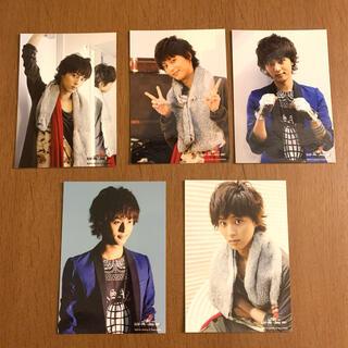 キスマイフットツー(Kis-My-Ft2)の藤ヶ谷太輔 公式ツアー生写真 Kis-My-Journey 2014 5枚(アイドルグッズ)