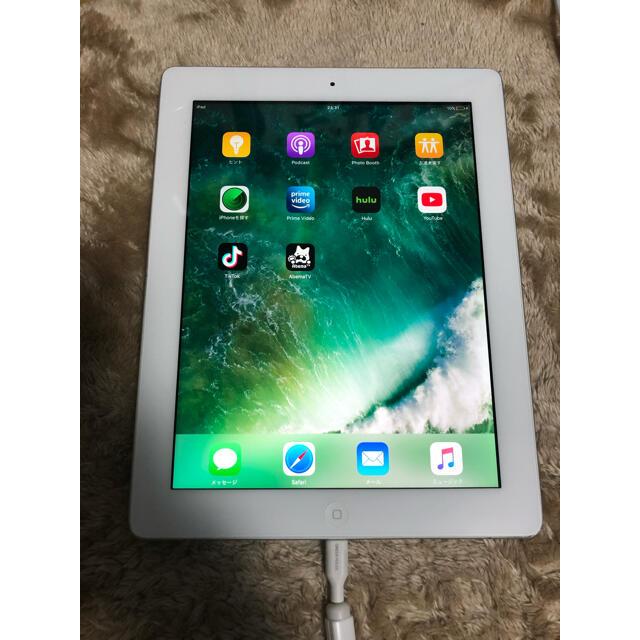 iPad(アイパッド)のiPad4 32GB  WIFI モデル アイパッド 第4世代 スマホ/家電/カメラのPC/タブレット(タブレット)の商品写真