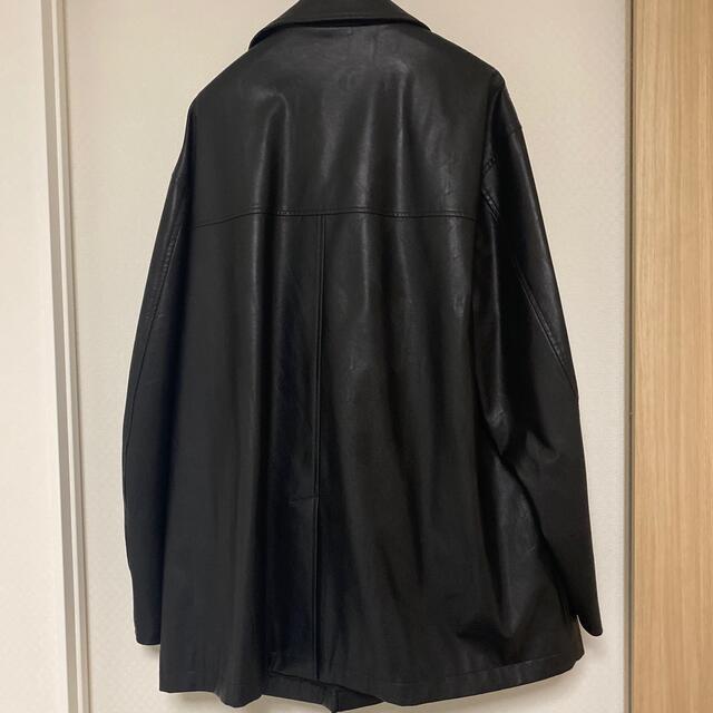 stein FAKE LEATHER CAR JACKET メンズのジャケット/アウター(レザージャケット)の商品写真
