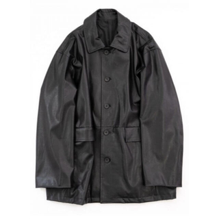 stein FAKE LEATHER CAR JACKET