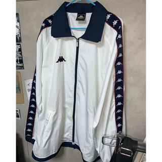 カッパ(Kappa)の90s kaapa サイドライン ナイロンジャケット 袖プリ (ナイロンジャケット)