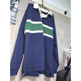 エルエルビーン(L.L.Bean)のエルエルビーン L.L.Bean ラガーシャツ 長袖 ボーダー ペルー製 レア(ポロシャツ)