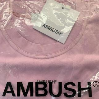 AMBUSH - AMBUSH L LOGO T-SHIRT
