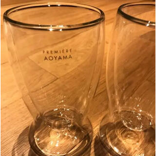 プルミエール(PREMIERE)のPREMIERE AOYAMA ペアサーモグラス(グラス/カップ)