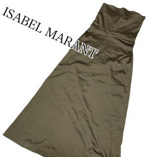 イザベルマラン(Isabel Marant)のイザベルマラン ベアトップ ロングワンピース ISABEL MARANT(ロングワンピース/マキシワンピース)