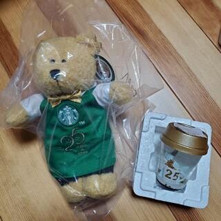 Starbucks Coffee - スターバックス スタバ ベアリスタ スノーグローブ 25周年 限定 ぬいぐるみ
