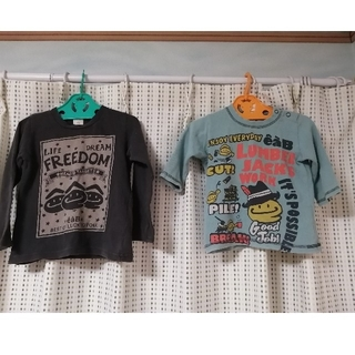 eaB - eaB 100cm 90cm 長袖 Tシャツ 2枚