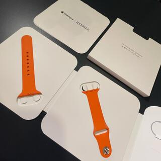 アップル(Apple)の【未使用】HERMES Apple Watchバンド40mm(腕時計)