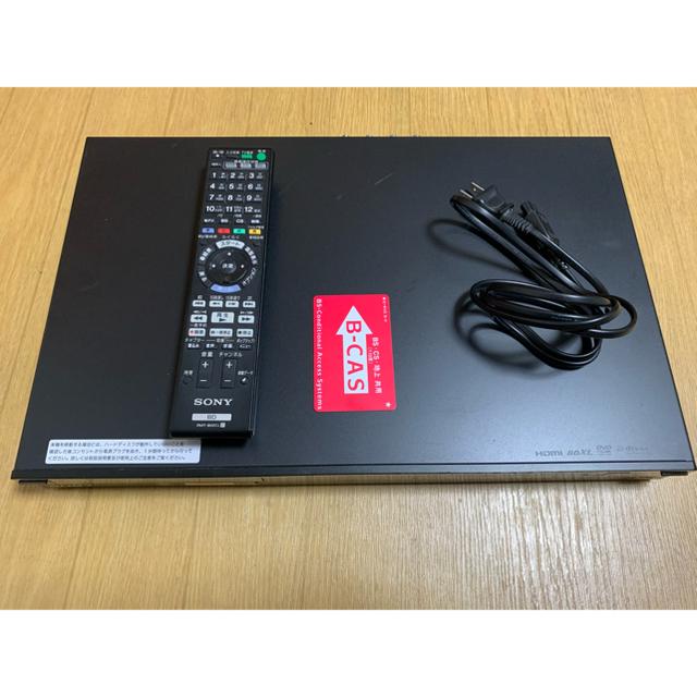 SONY(ソニー)のSONY BDZ-AT300S ブルーレイ DVDレコーダー スマホ/家電/カメラのテレビ/映像機器(ブルーレイレコーダー)の商品写真