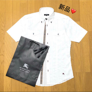 BURBERRY - ☆新品 バーバリーブラックレーベル 半袖シャツ2