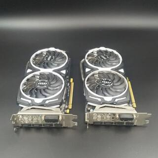 MSI RADEON RX 570 ARMOR 4G OC 2枚セット②