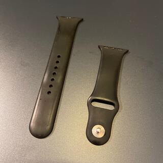 アップル(Apple)のApple Watch純正ラバーベルト40mm用(ラバーベルト)