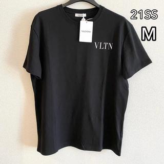 ヴァレンティノ(VALENTINO)の新品 100%本物 【M】valentino  ロゴ Tシャツ ヴァレンティノ(Tシャツ/カットソー(半袖/袖なし))