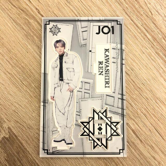 川尻蓮 アクリルスタンド 缶バッチ エンタメ/ホビーのタレントグッズ(アイドルグッズ)の商品写真