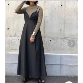 Ameri VINTAGE - アンジェム 新品未使用 完売品 yukkoさん着用 フレアキャミワンピース