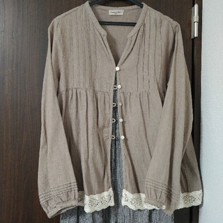 SM2 - 美品✨サマンサモスモス sm2 レースプルオーバー 綿麻羽織り