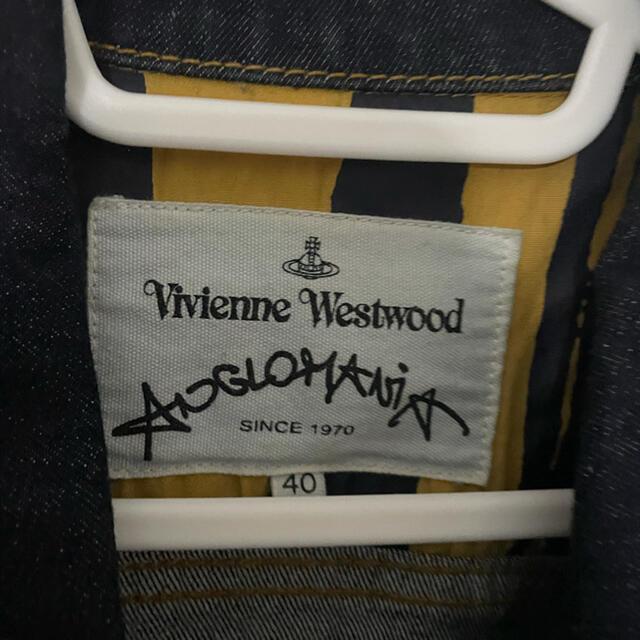 Vivienne Westwood(ヴィヴィアンウエストウッド)の値下げ中ヴィヴィアン ウエストウッド Gジャン デニムジャケット レディースのジャケット/アウター(Gジャン/デニムジャケット)の商品写真