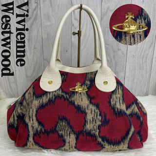Vivienne Westwood - 人気♡ヴィヴィアンウエストウッド オーブ ハンドバッグ 総柄 マルチカラー