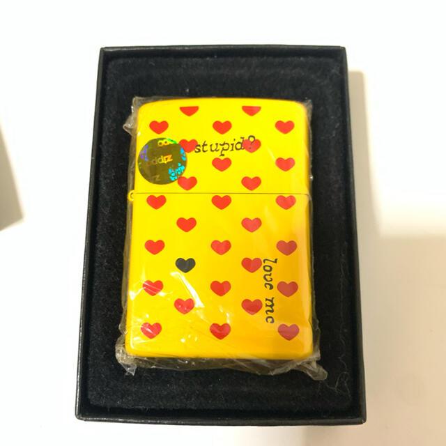 ZIPPO(ジッポー)の新品 未使用 ZIPPO ジッポ zippo ジッポ hide イエローハート  メンズのファッション小物(タバコグッズ)の商品写真
