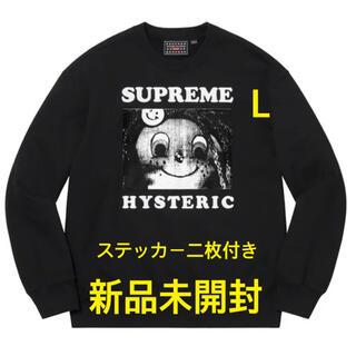 Supreme - Supreme HYSTERIC GLAMOUR スウェット L