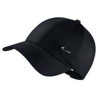 ナイキ(NIKE)のナイキ キャップ メタル ワンポイント ロゴ ブラック(キャップ)
